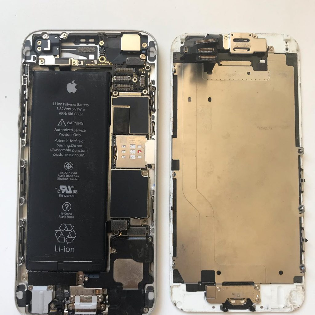 iphone screen inside